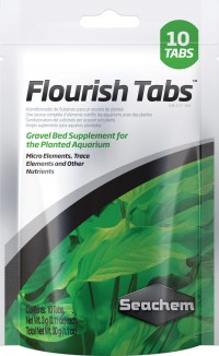 Seachem Laboratories Inc flourish tabs - 10 pack, 24 ea