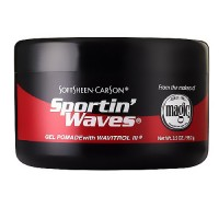 Soft Sheen Sportin Waves Gel Pomade With Wavitrol III - 3.5 oz