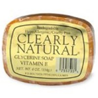 Clearly natural glycerine soap bar vitamin e  - 4 oz