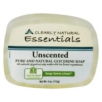 Clearly Natural Glycerine Soap, Unscented - 4 oz