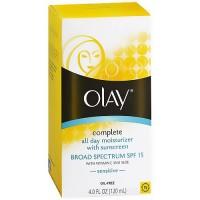 Olay complete UV moisturizer with vitamins E and B3, SPF 15 - 4 oz
