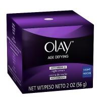 Olay age defying anti-wrinkle replenishing night cream - 2 oz