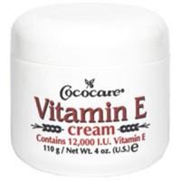 Cococare vitamin E cream ( 12, 000 I.U. ) - 4 oz