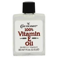 Cococare 100% vitamin E moisturizing oil 28000 iu for dry skin - 1 oz
