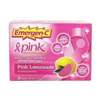 Emergen C pink 1000 mg vitamin C packets, pink lemonade - 30 ea