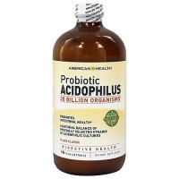 American Health Probiotic Acidophilus culture plain flavor - 16 oz