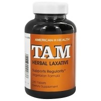 American Health tam herbal laxative tablets supports regularity, 250 ea