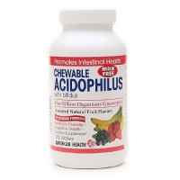 American Health Acidophilus Chewable and Bifidum - 100 Wafers