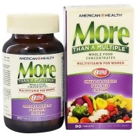American Health More Than A Multiple Vitamins for Women - 90 Tablets