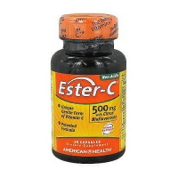 American Health Ester C with citrus bioflavonoids 500 mg capsules, immune support - 60 ea