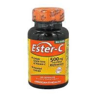 American Health Ester C with citrus bioflavonoids 500 mg capsules, immune support - 60 ea