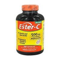 American health ester-c 500 mg capsules with citrus bioflavonoids - 240 ea