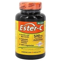 American Health Ester-C 500 mg capsules for immune support - 120 ea