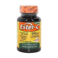 American Health Ester C with Citrus Bioflavonoids 500 mg -90 veg tablets