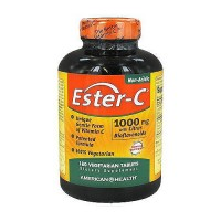 American Health non acidic esterC with citrus bioflavonoids 1000 mg vegetarian tablets - 180 ea