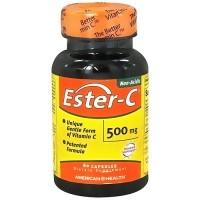 American Health Non-Acidic Ester C 500mg Capsules - 60 ea