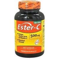 American Health Non-Acidic Ester C 500mg Capsules - 120 ea