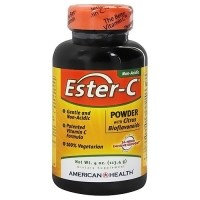 American Health Ester C Powder with Citrus Bioflavonoids - 4 oz