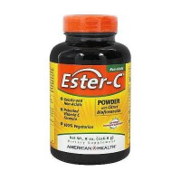 Ester C powder for immune support with citrus bioflavonoids by American Health - 8 oz