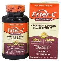 American Health Ester C Cranberry and Immune Health Complex - 90 Tablets