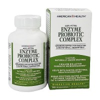 American Health enzyme probiotic complex dual action vegetarian capsules - 90 ea