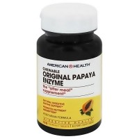 American Health original papaya enzyme chewable tablets - 100 ea
