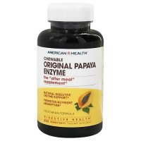 American Health Original Papaya Enzyme - 250 Chewable Tablets