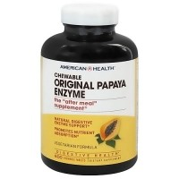 American Health original papaya enzyme chewable tablets - 600 ea