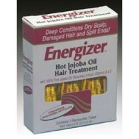 Hobe Labs Energizer, Hot Jojoba Oil Hair Treatment, 3 Reclosable Tubes - 0.5 oz
