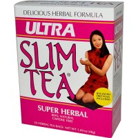 Hobe labs ultra slim tea super herbal - 1.69 oz