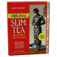 Hobe labs 100% natural original slim tea bags - 24 ea