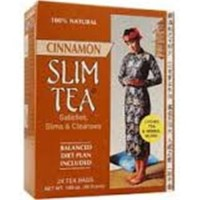 Hobe labs slim tea cinnamon stik - 24 ea