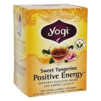 Yogi Positive Energy Tea, Sweet Tangerine - 16 Bags, 6 pack