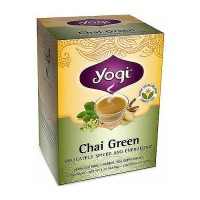 Yogi Tea  Chai Green Organic Tea - 16 Tea Bags