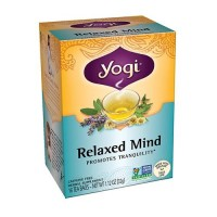 Yogi Relaxed Mind Herbal Tea Supplement Bags - 16 Ea ,6 pack