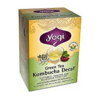 Yogi green tea Kombucha Decaf Herbal Supplement Tea Bags - 16 ea, 6 pack