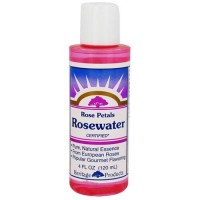 Heritage Rose Petals Rosewater Pure And Natural Essence - 4 Oz
