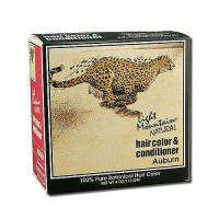 Light Mountain Natural Hair Color and Conditioner, Auburn - 4 oz