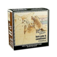 Light Mountain Natural Hair Color and Conditioner, Chestnut - 4 oz