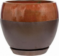 Southern Patio clayworks kendell egg planter - 12 in, 1 ea