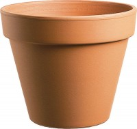 Southern Patio standard clay pot - 10 inch, 6 ea
