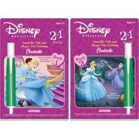 Disney princess invisible ink - 3 ea
