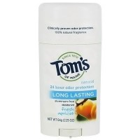 Toms of Maine Natural Long-Lasting Deodorant Stick Apricot - 2.25 oz (64 g)