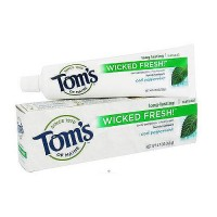 Toms of Maine Wicked Fresh Toothpaste, Cool Peppermint - 4.7 oz, 6 pack