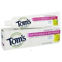 Toms of Maine Antiplaque And Whitening Toothpaste, Fennel - 5.5 oz