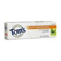 Toms of Maine Cavity Protection Toothpaste, Spearmint - 5.5 oz, 6 pack