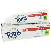 Toms of Maine propolis and myrrh Toothpaste, spearmint - 5.5 oz
