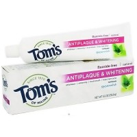 Toms of maine antiplaque and whitening toothpaste, spearmint - 5.5 oz