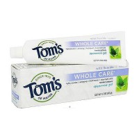 Toms of Maine Whole Care Spearmint Gel Toothpaste - 4.7 oz, 6 pack