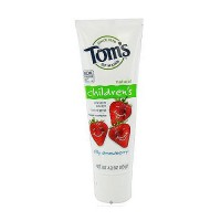 Toms of Maine childrens natural fluoride toothpaste, silly strawberry - 4.2 oz, 6 pack